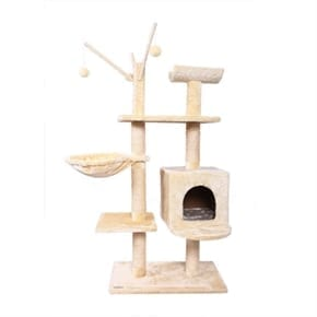Pet Executive Cat Tree - Beige