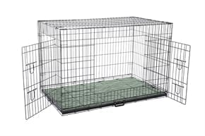 Pet Dog Crate with Bed - 2X Large