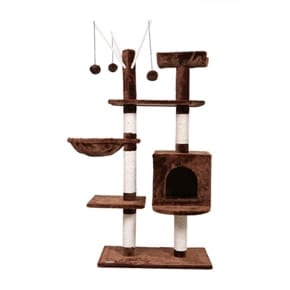 Pet Executive Cat Tree - Brown