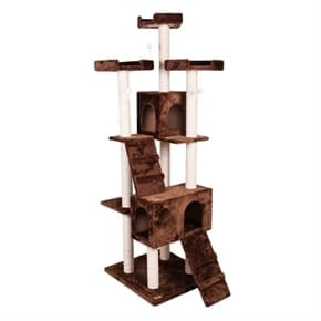 Pet Presidential Cat Tree - Brown